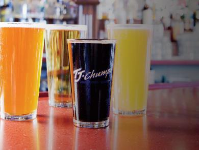 4 glasses of beer