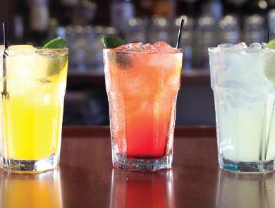 3 margarita drinks