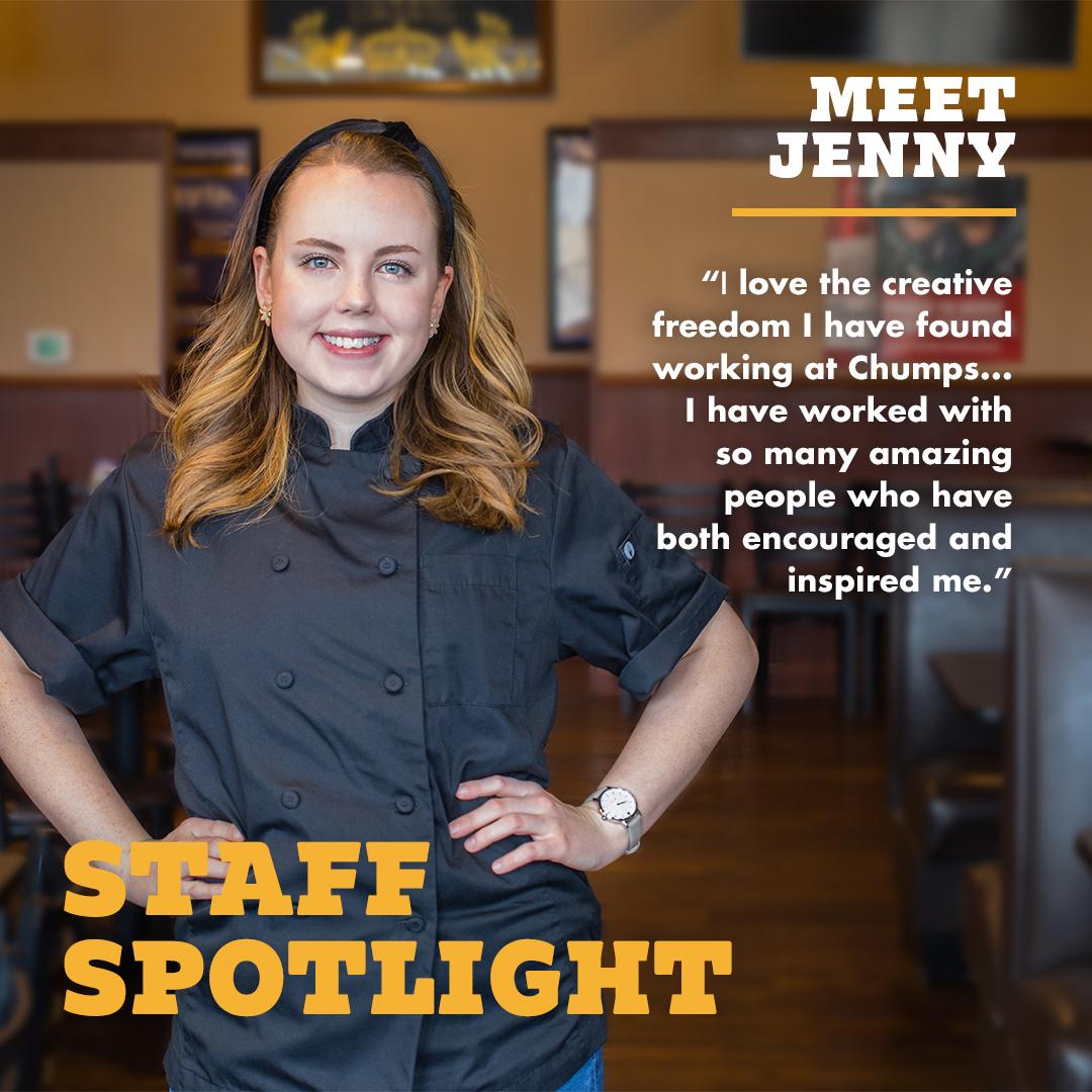 Jenny Staff Spotlight TJ Chumps